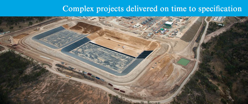 Complex projects delivered on time to specification